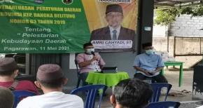 Amry Cahyadi, ST Sosialisasikan Perda Nomor 03 Tahun 2019 Tentang Pelestarian Kebudayaan Daerah