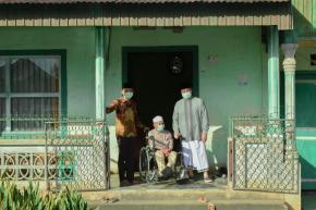 Gubernur Erzaldi Mampir Ke Rumah Pendiri Ponpes Al Islam Kemuja