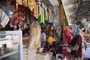 Pertengahan Puasa, Harga Bahan Pangan Normal di Belinyu dan Riausilip