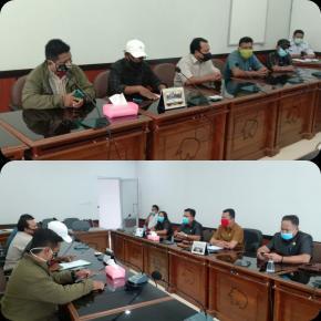 Pertanyakan Tindak Lanjutnya, Sejumlah Perwakilan Masyarakat Desa Dukong Datangi Gedung DPRD Kabupaten Belitung