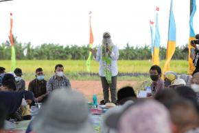 Silaturahim, Tatap Muka dan Diskusi Ibu Melati di Desa Serdang