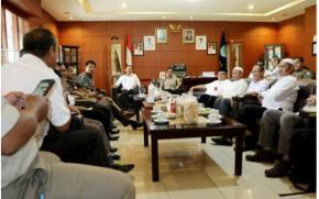 Wabup Bangka Koordinasikan 1000 Warga Penerima Sertifikat Hadir di Acara Jokowi