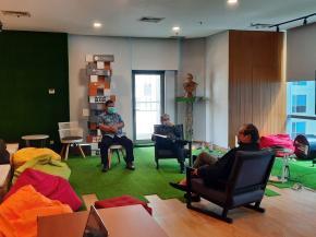 Gubernur Erzaldi Beraudiensi Dengan Founder & Chairman MarkPlus Inc