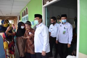 Lima Desa di Tukak Sadai Dapatkan Bantuan Sosial