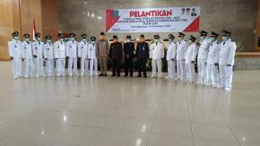 Bupati Belitung Resmi Lantik 15 Kepala Desa Terpilih Periode 2020- 2026