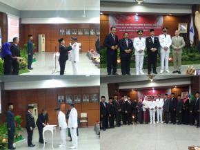 Walikota dan Wakil Walikota Pangkalpinang Periode 2018-2023 Resmi di Lantik