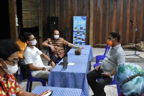 Tarsius, Satwa Langka Belitung Curi Perhatian Menteri Sandi