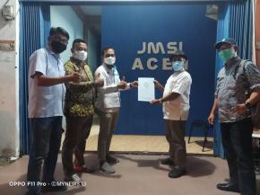 Dewan Pers Lakukan Verfak JMSI Aceh Sebagai Pengda ke 10 di Indonesia