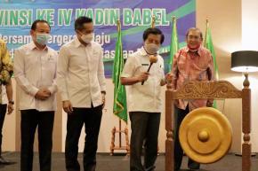 Wagub Abdul Fatah Buka Musyawarah Provinsi ke-IV Kadin Babel