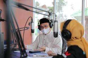 Lewat BN Radio, Gubernur Erzaldi Ingatkan Pesan Penting Bagi Masyarakat Babel