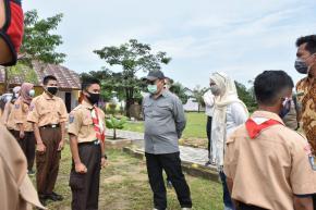 Gubernur Babel Erzaldi Rosman Kunjungi SMK 1 Air Gegas