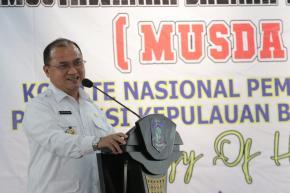 Energy of Harmony, Gubernur Erzaldi Resmi Buka Musyawarah Daerah KNPI Babel