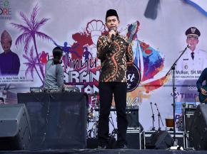 Bupati Bangka Mengapresiasi Belinyu Karang Lintang Festival