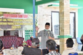Pemprov. Babel Telah Bagikan Bantuan 207.350 Batang Lada Pada Masyarakat Bangka Barat
