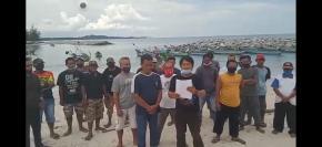 Puluhan Nelayan Tolak  Penambangan KIP di Perairan Matras