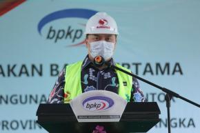 Gubernur Erzaldi Letakkan Batu Pertama Pembangunan Kantor Perwakilan BPKP Babel