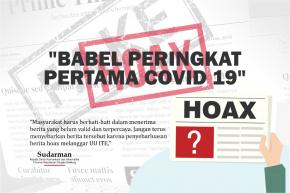"Penyebar Hoax ""Babel Peringkat Pertama Covid -19""M Dimaafkan"
