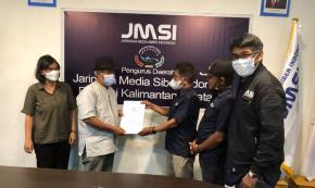 JMSI Kalsel Sukses Persembahkan Verfak oleh Dewan Pers