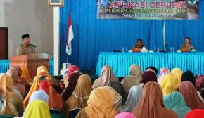 Sekda Bangka Launching Aplikasi CERUDIK