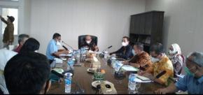 Walikota Gelar Rapat Pembahasan Temuan BPK RI Perwakilan Babel