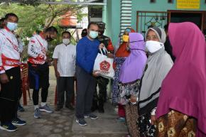 Forkopimda Babel Maknai HUT TNI ke-75 Dengan Kegiatan Sosial
