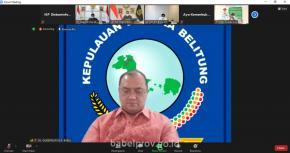 Gubernur Laporkan Evaluasi Pelaksanaan PPKM Level 4 Kepada Menko Perekonomian