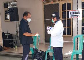 Turut Sumbangkan Hak Suara dalam Pilkades Serentak, Gubernur Erzaldi Ingatkan Protokol Kesehatan Diutamakan