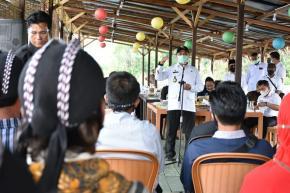 Pemprov. Babel Sarankan UMKM Desa Belo Laut Untuk Manfaatkan KUR