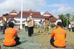 Gubernur : Tim Satgas Harus Sehat dan Sudah Divaksin