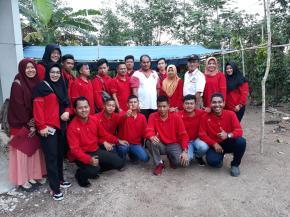 Camat Simpang Rimba Lepas Peserta KKN Angkatan 16 STIH Pertiba Tahun 2018