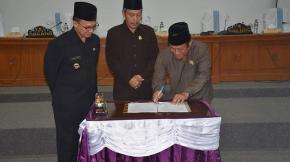 Pemkab Bangka dan DPRD Sepakati RPJMD Lima Tahun
