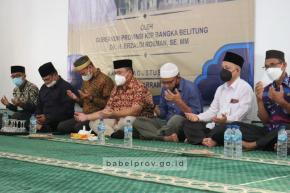 Gubernur Erzaldi ke Masyarakat Desa Saing : Perbanyak Sedekah dan Makmurkan Masjid