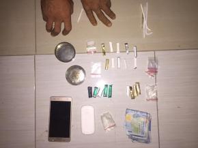Polisi Ringkus Dua Pengedar dan Sita Puluhan Paket Sabu