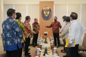 Walikota Pangkalpinang Sampaikan Usulan Lima Program Kepada Menteri KKP
