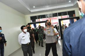 Wagub Abdul Fatah Hadiri Persemian Gedung Polres Pangkalpinang