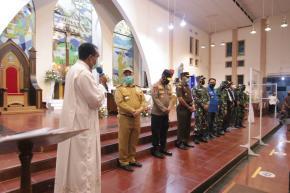 Pastikan Malam Natal Aman, Gubernur Erzaldi Kunjungi Gereja-gereja di Pangkalpinang