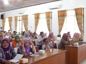 Dinkes Bangka Gelar Sosialisasi Program Indonesia Sehat Melalui Pendekatan Keluarga