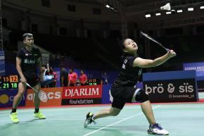 Kalahkan Pasangan Rian/Nadya Pasangan Rinov/Mentari Melaju ke Semifinal Indonesia Masters 2018