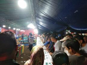 Aktivitas Pasar Malam Diduga Mengandung Unsur Perjudian.