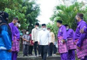 Ketua Lam Apresiasi Walikota Karena Kawasan Budaya Melayu Terang Benderang