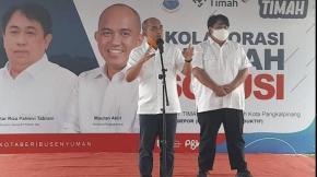 PT Timah Bersama Pemkot Serahkan 780 Both dan Tenda Kepada Pelaku UMKM, Molen: Ini Yang Pertama di Kota Pangkalpinang