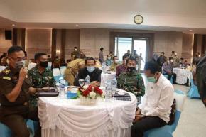 Wakil Ketua DPRD M Amin Hadiri Rakor Pengawasan Intern Keuangan dan Pembangunan Tingkat Provinsi Kep. Babel Tahun 2021
