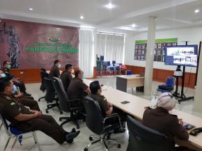 Dorong Kinerja Intelijen, Jaksa Agung Angkat Sumpah Satgas 53