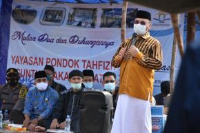 Berkolaborasi dengan Mitra, Gubernur Erzaldi Bantu Biaya Operasional Pondok Pesantren