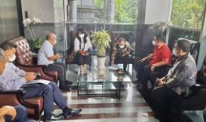 Walikota Pangkalpinang Datangi Kementrian PUPR Sampaikan Beberapa Usulan Pembangunan