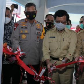 Gunting Pita, Kantor Sekretariat Persatuan Wartawan Indonesia Babel Resmi Beroperasi