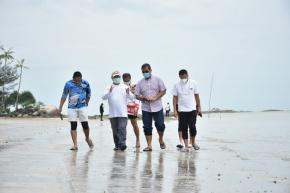 Gubernur Erzaldi Dampingi Dirjen Hubla Tinjau Rencana Pengembangan Pelabuhan Pangkal Balam