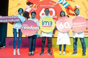 Indosat Luncurkan New Freedom, Paket Internet Terbaik dan Murah
