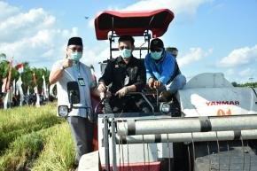 Menteri Pertanian RI Berikan Dukungan Untuk Pertanian Babel
