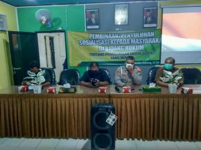 Desa Dukong Gelar Penyuluhan Kepada Masyarakat Di Bidang Hukum